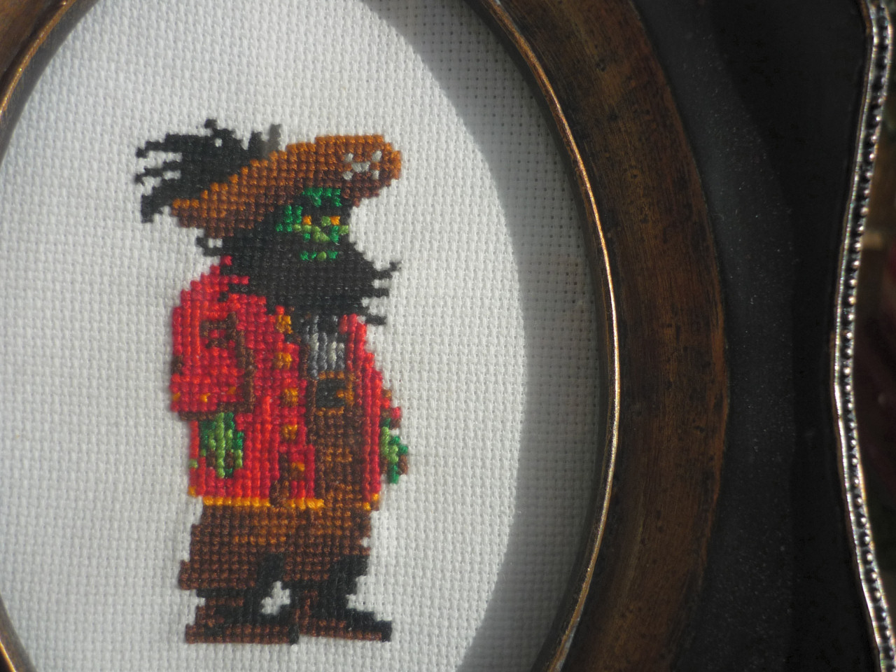 Le Chuck Cross Stitch